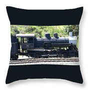 Old Choo Choo  Throw Pillow