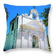 Old Church Colonia Throw Pillow