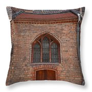 Old Church In Berlin Throw Pillow