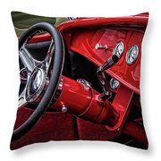 Old Classic Interior Throw Pillow