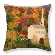 Old Colony Glory Throw Pillow