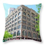 Old Corner Throw Pillow