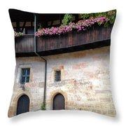 Old Court - Bamberg  Throw Pillow