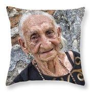 Old Cuban Throw Pillow