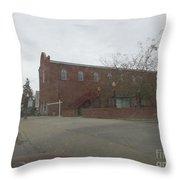 Old Dance Hall Throw Pillow