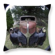 Old Dodge Truck Throw Pillow