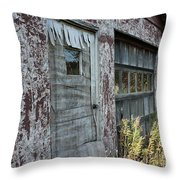 Old Door County Cherry Store Throw Pillow