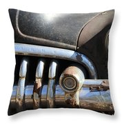 Old Drive  Throw Pillow