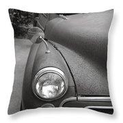 Old English Car Throw Pillow