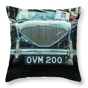 Old English Throw Pillow by Nick Bywater