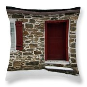 Old Entryway Throw Pillow