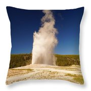Old Faithful IIi Throw Pillow