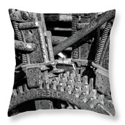 Old Farm Machinery #2 Throw Pillow