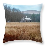 Old Farm Saturated Throw Pillow
