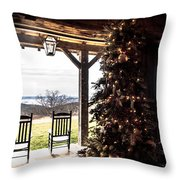Old Fashion Christmas  Throw Pillow