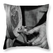 Old Fashion From A Cask Throw Pillow