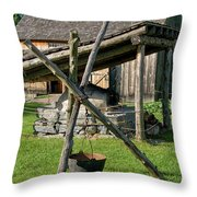 Old Fashioned Cooking Throw Pillow
