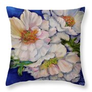 Old Fashioned Roses Jenny Lee Discount Throw Pillow