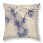 Old-fashioned Venice Mask Throw Pillow