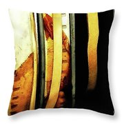 Old Film Reels Throw Pillow