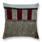 Old Fish House Throw Pillow
