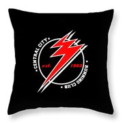 Old Flash Throw Pillow