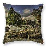 Old Florida Throw Pillow