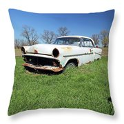 1954 Ford Victoria Throw Pillow