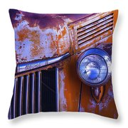 Old Ford Pickup Throw Pillow