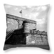 Old Fort Matanzas Throw Pillow