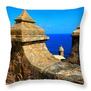 Old Fort Puerto Rico Throw Pillow
