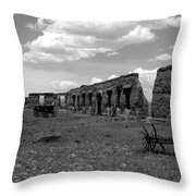 Old Fort Union Throw Pillow