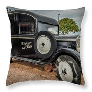Old French Truck Throw Pillow