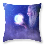 Old Friand Throw Pillow