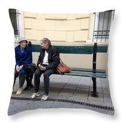 Old Friends Throw Pillow