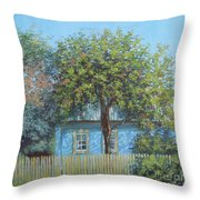 Old Garden Throw Pillow