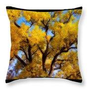 Old Giant  Autumn Cottonwood Orton Throw Pillow