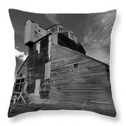 Old Granary Throw Pillow
