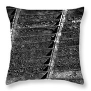 Old Grate Throw Pillow