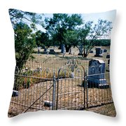 Old Grave Site 2 Throw Pillow