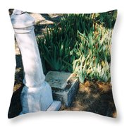 Old Grave Site Throw Pillow