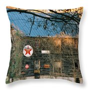 Old Grist Mill Throw Pillow