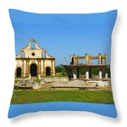 Old Guerrero Mexico Throw Pillow