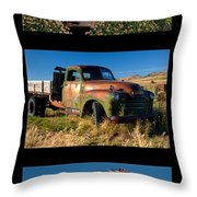 Old Guys Trio 4 Throw Pillow by Idaho Scenic Images Linda Lantzy