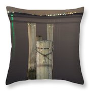 Old Harbor  Throw Pillow