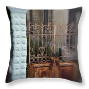 Old Heart Gate 2 Throw Pillow