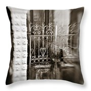 Old Heart Gate Throw Pillow