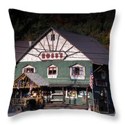 Old Hoss's Throw Pillow