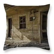 Old House 14 Throw Pillow by Roger Snyder