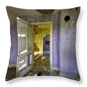 Old House 2 Throw Pillow by Roger Snyder